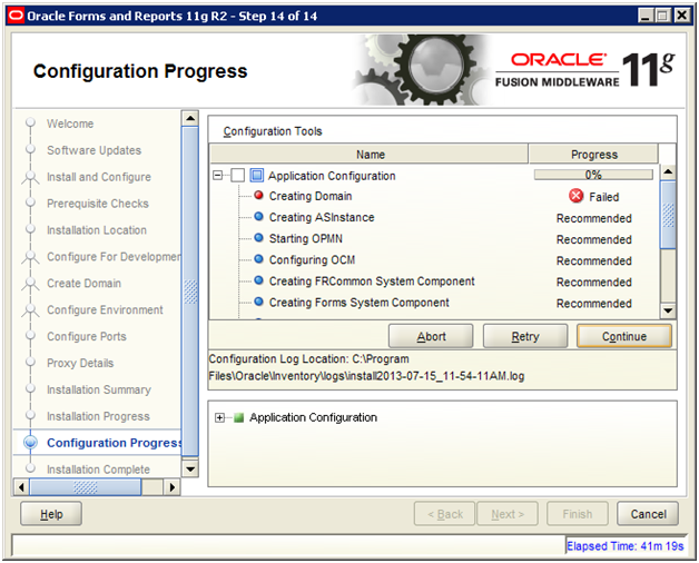 Installing Oracle Forms and Reports 11g Release 2 | Holowczak com