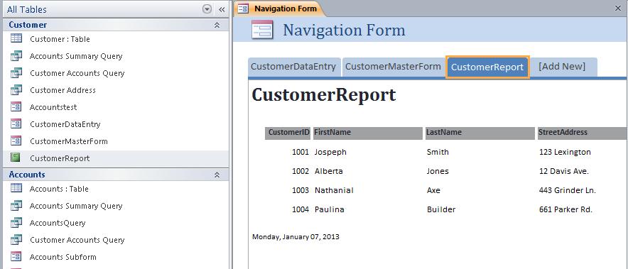 Microsoft Access 2007, 2010 and 2013 Tutorial   Holowczak.com ...