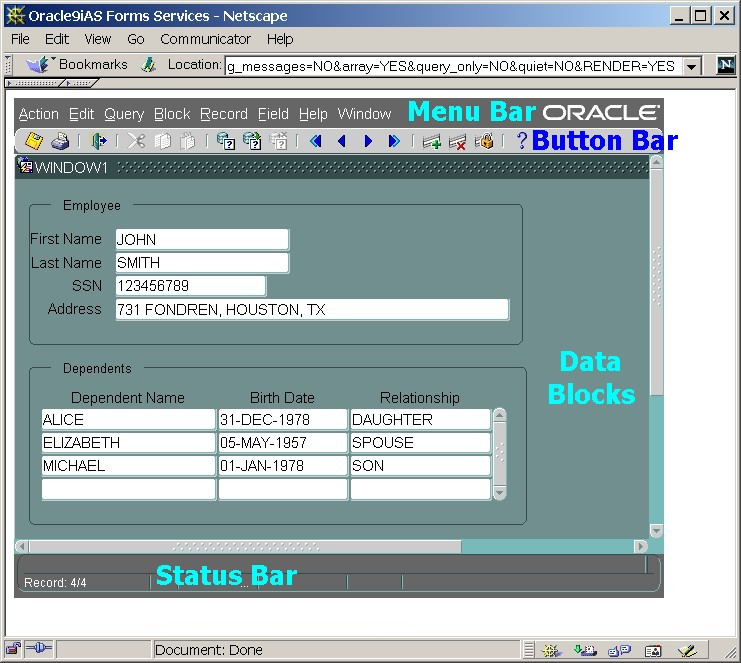 Oracle 9i, Oracle 10g and Oracle 11g Developer Suite Forms and ...