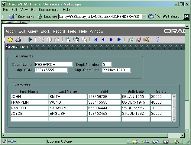 Oracle 9i, Oracle 10g and Oracle 11g Developer Suite Forms