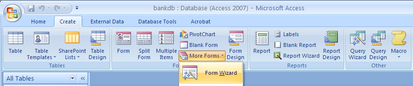 Microsoft Access 2010, 2013, 2016 and 2019 Tutorial – Page