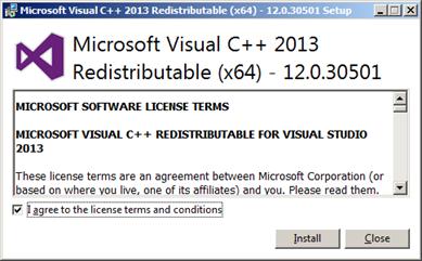 download visual c++ 2013 runtime 64 bit
