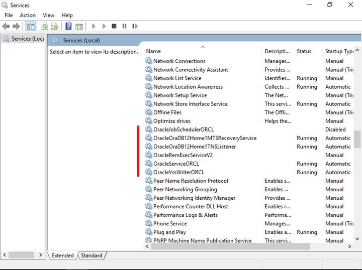 Installing Oracle 12c Standard Edition on Windows 10