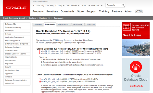 Installing Oracle 12c Enterprise Edition on Windows 7 – Page
