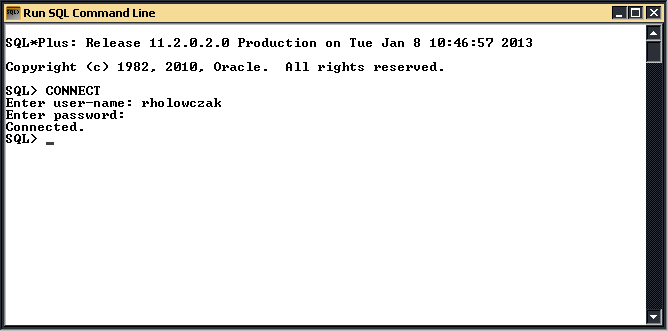 ORACLE SQL*Plus Tutorial – Page 3 – Holowczak com Tutorials