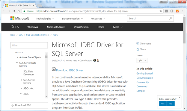 Installing Microsoft SQL Server JDBC Drivers in Pentaho Data