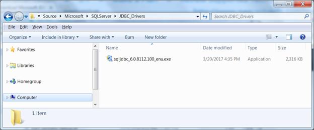 Installing Microsoft SQL Server JDBC Drivers in Pentaho Data