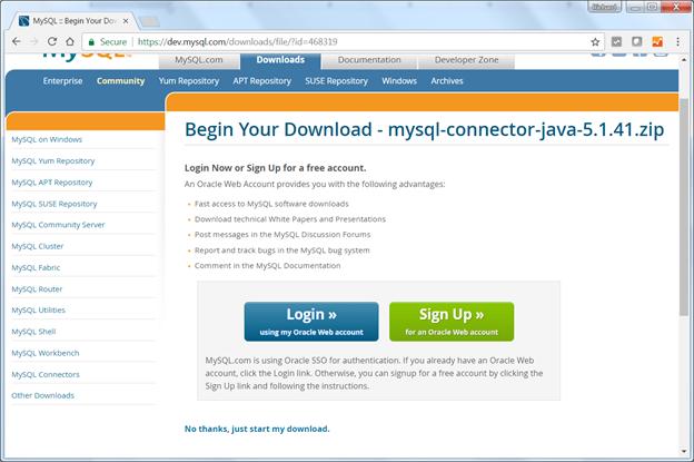 LE DRIVER JDBC POUR MYSQL