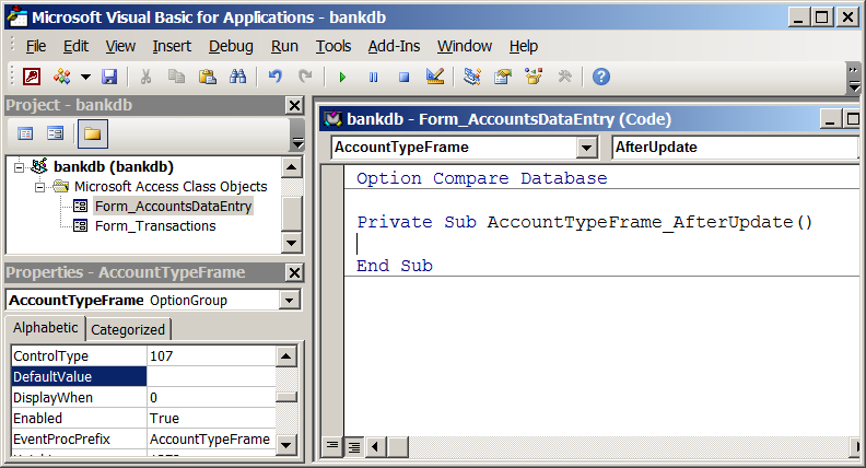 Advanced Forms Design in Microsoft Access 2010 and 2013 ...