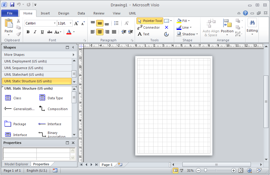drawing e r diagrams with crow    s foot notation using microsoft     new blank visio diagram