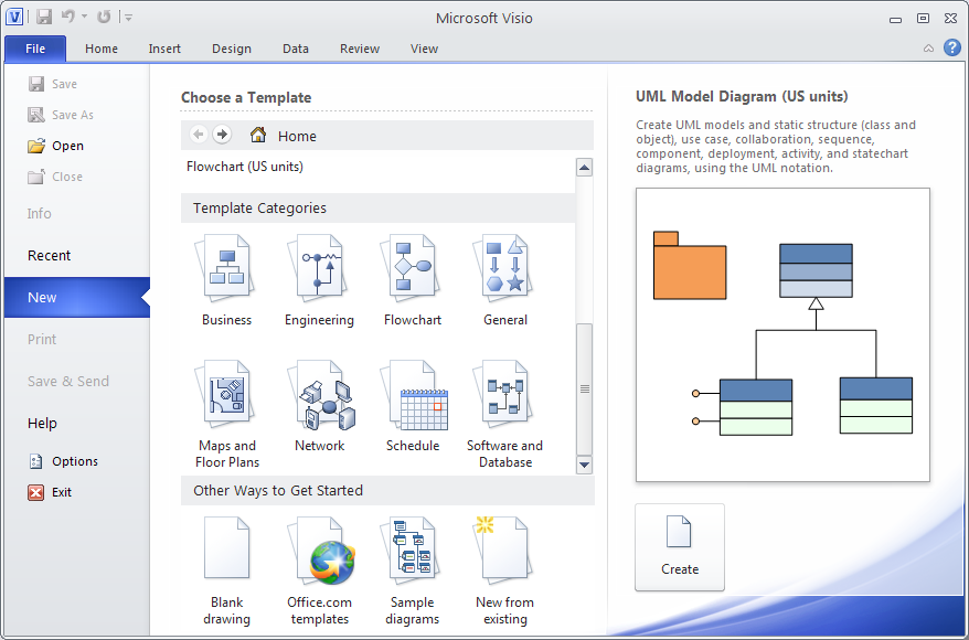Drawing E R Diagrams With Uml Notation Using Microsoft Visio