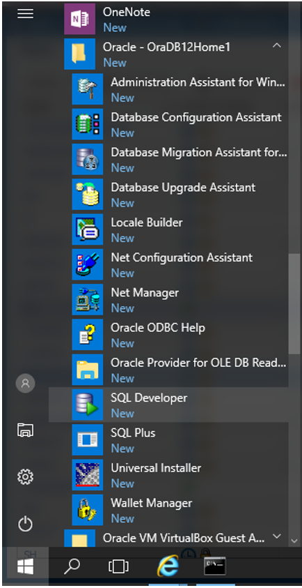 Installing Oracle 12c Standard Edition on Windows 10 Professional