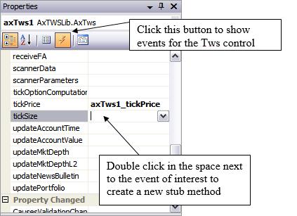Programming Interactive Brokers ActiveX API using Visual C++