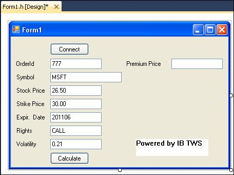 Programming Interactive Brokers ActiveX API using Visual C++ and