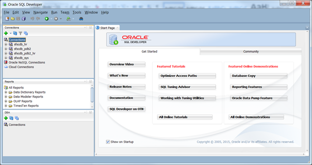 Reverse engineering a data model using oracle sql developer run oracle sql developer and create a connection to the database schema you will work with in this example we created a connection to the hr schema which ccuart Choice Image