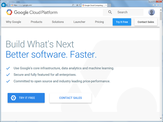 Getting Started with Google Cloud Services – Setting up and Funding