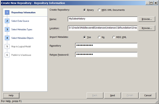 Oracle Business Intelligence and Warehouse Builder Integration