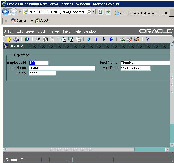 Oracle Developer Suite 11g Windows 10 64 Bit - The Best